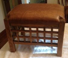 Arts & Crafts or Mission Footstool - Great Look!