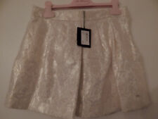 BNWT GIAN FRANCO FERRE GOLD PEARL HEAVY LACE OVERLAY SKIRT AGE 9-10 TAG £169