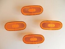4 x MERCEDES SPRINTER AND VW CRAFTER 06-UP SIDE MARKER LIGHT LAMP REFLECTOR LENS
