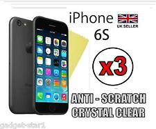 3x HQ ULTRA CLEAR SCREEN PROTECTOR COVER GUARD FILM FOR APPLE IPHONE 6S 4.7""