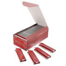 1 Caja  50 Folletos Luna Roja Cigarrillos Tabaco Papeles de Enrollar 2500 Hojas