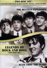 Legends of Rock and Roll: The Beatles Explosion/Elvis T (2011, REGION 1 DVD New)