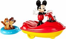 DISNEY MICKEY MOUSE CLUBHOUSE MICKEY OUTDOOR CRUISER W/ CHIP N DALE PLAYSET