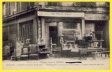 cpa Très RARE 75 - PARIS 33 Avenue du MAINE Au PELE MELE Maison Gaston ZIÉBEL