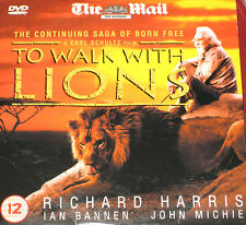 To Walk With Lions (DVD), Richard Harris, Honor Blackman, Ian Bannen, Kerry Fox.