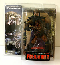 PREDATOR 2 THE HUNTER ACTION FIGURE MOVIE MANIACS 6 MCFARLANE TOYS ALIEN VS