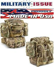 NEW US Military Issue Multicam /OCP Molle II Backpack Complete W/Frame & Pouches