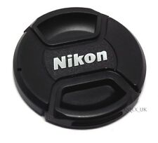 62mm Front Lens Cap Hood Cover Snap-on for Nikon Camera - UK seller