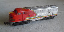 Vintage N Scale Trix W Germany Santa Fe 510 Locomotive