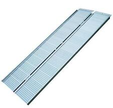Wheelchair ALUMINUM Access Ramp Drive-on rail Loading dock 270 Kg