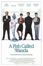 A FISH CALLED WANDA - 27x40 Original Movie Poster One Sheet 1988 Rolled Final