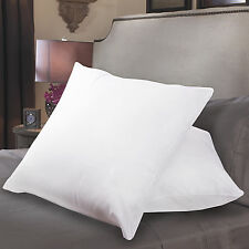 "Sweet Home Collection 26"" x 26"" Square Euro Poly Fiber Fill Pillow - 2 Pack"