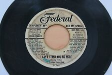 JIMMY NOLEN I Can't Stand You No More/You've Been Goofing 45 R&B HEAR
