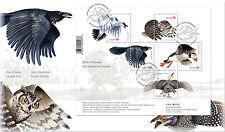 CANADA 2016 BIRDS OF CANADA SOUVENIR SHEET FIRST DAY COVER - A