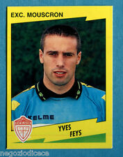 FOOTBALL 98 BELGIO Panini -Figurina-Sticker n. 277 - FEYS -EXC MOUSCRON-New
