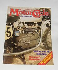 THE CLASSIC MOTOR CYCLE JANUARY 1984 - 654CC BSA SPITFIRE MARK 2 SPECIAL