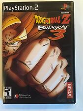 Dragonball Z Budokai 3 - Playstation 2 - Replacement Case - No Game