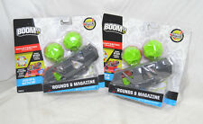 2 packs BOOM CO Smart Stick technology Rounds & Magazine Mattel Target Boomco