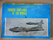 Boeing B-17: Famous Airplanes of the World No. 24, 1972 by Burin-Do (1972 PB)