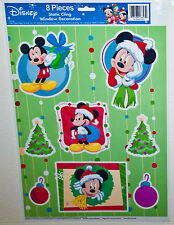 Disney Mickey Christmas Window Cling Decorations