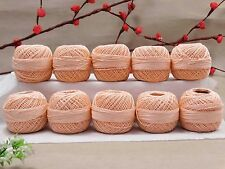 Knitting Lot Of 10 Pcs Cotton Thread Anchor Crochet Tatting Embroidery Ball Yarn