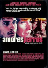 DVD FOREIGN LANGUAGE AMORES PERROS