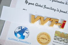 24K Gold Plated VVTI VVT-i Toyota Car Badge Decal Logo Sticker Emblem