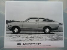 DATSUN 120Y COUPE ORIGINAL PRESS PHOTO jm