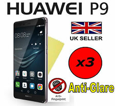 3x HQ MATTE ANTI GLARE SCREEN PROTECTOR COVER SAVER FILM GUARD FOR HUAWEI P9