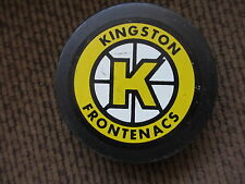 KINGSTON FRONTENACS 1989-2000 OFFICIAL OHL GAME PUCK