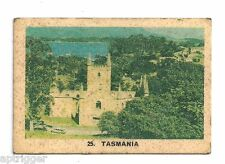 1969 Twisties Happy Holiday Game (25) Tasmania (Win one of ... ) on the reverse