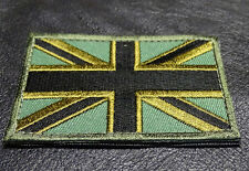 UNION JACK UK ENGLAND FLAG TACTICAL MORALE ARMY VELCRO PATCH