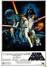 Star Wars IV  A NEW HOPE EPISODE 4 ** NEW OFFICIAL MOVIE POSTER**  print