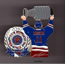 MINOR HOCKEY PIN PEE-WEE 2010 NEW YORK RANGERS MARK MESSIER