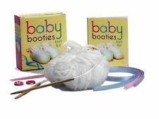 Baby Booties Knit Kit by Julia S. Pretl (Mixed media product, 2011)