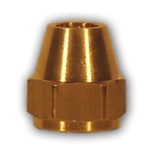 1/4 inch Flare Nut Brass Pipe Fitting NPT soft copper air water line fuel gas