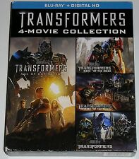 Action Blu-ray Lot - Transformers 4-Movie Collection (Used)