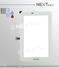 "Touch screen per schermo samsung galaxy tab 2 bianco P3100 7"" + kit"