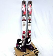 Girls Ski Package, Head 97cm Mojo Spawn III Skis, Roxy Bindings, Alpina Boots