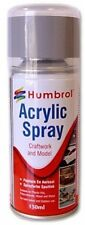 Humbrol Spray Varnish | Acrylic Varnish Matt | Carftwork and Model |150ml |