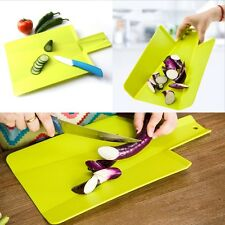 New Flexible Plastic Chopping Cutting Board Mat for Kitchen Camping Picnic Tools