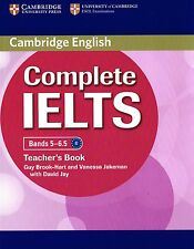 Cambridge English COMPLETE IELTS Bands 5-6.5 TEACHER'S BOOK Guy Brook-Hart @NEW@