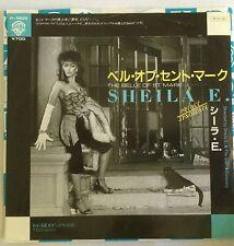 """SHEILA E: BELLE OF ST MARK (1984 JAPAN 7"""" SINGLE/ WHITE LABEL) BONUS TRK PRINCE"""