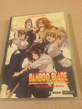 Bamboo Blade The Complete Series Funimation New Sealed Out Of Print