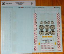 Microscale Decal O #48-1513 Canadian Pacific (CP) Modern Boxcars (2 Sheets)