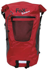 "MFH FoX Outdoor Rucksack ""Dry Pak 20"" Backpack Rot 20l"