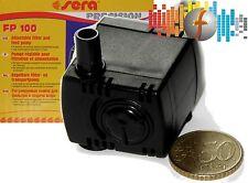 Mini Filterpumpe Sera FP100 bis 120 L/H regelbar, Förderpumpe für Nano-Aquarien