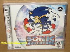 Sonic Adventure Black Label New Sealed (Sega Dreamcast, 1999)