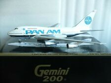 Gemini Jets 200 Pan Am B747 SP Clipper Young America, Reg.#N533PA 1:200 Scale