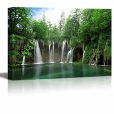 "Canvas Prints - Waterfall in Plitvice National Park, Croatia- 32"" x 48"""